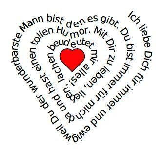 Valentinstag Gedichte Sprüche   Dein Persönliches Gedicht Zum Valentinstag    Automatisch In Herzform! So Gehts