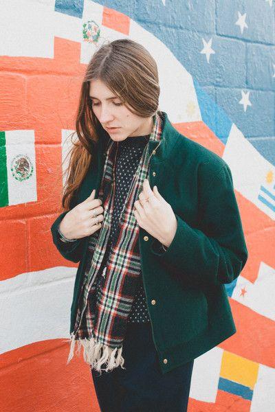 Green Pendleton Wool Jacket