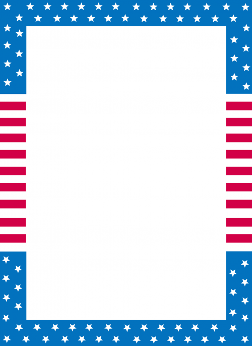 graphic relating to Us Flag Printable titled Printable Stationary United states Flag Printable July 4th