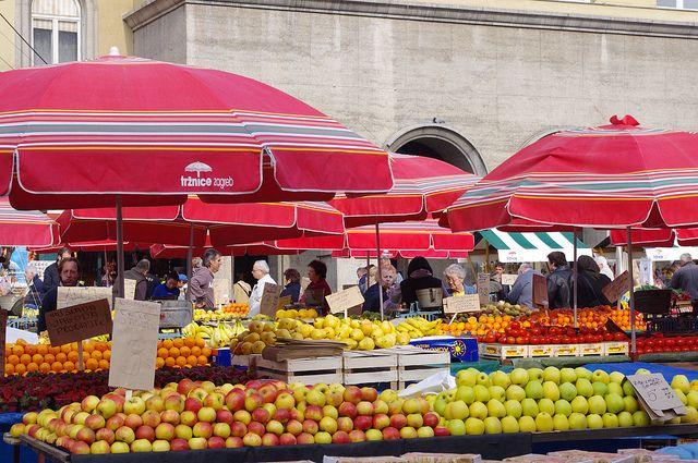 Dolac Market Gornji Grad Medvesca Zagreb Republic Of Croatia Republika Hrvatska 35 Dolac Zagreb Croatia