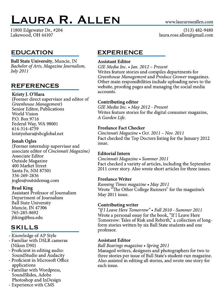 freelance writer resume - Google Search resumes Pinterest - freelance writer resume