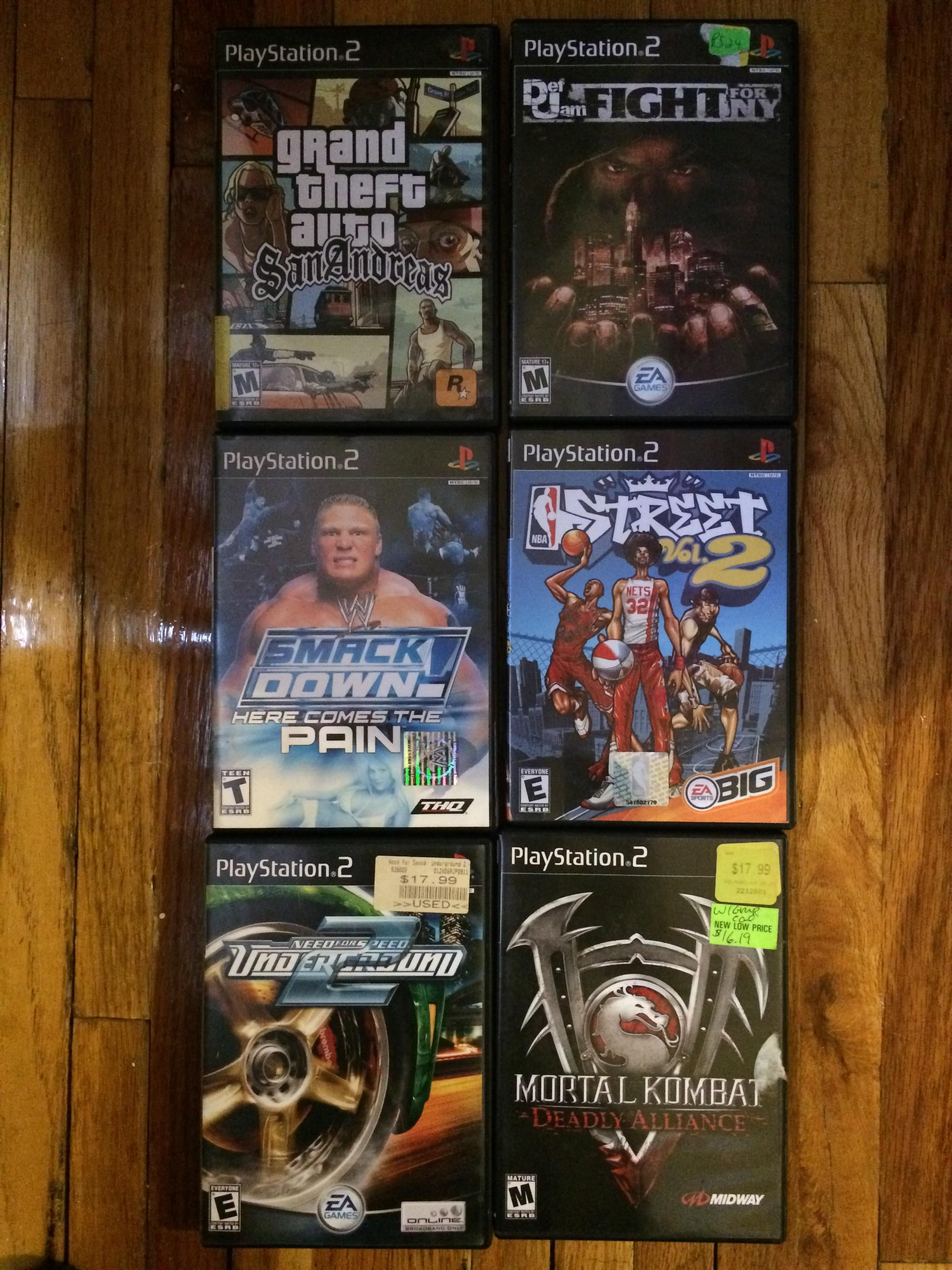 I'm 15 trying to collect ps2 classic games what else should i add to