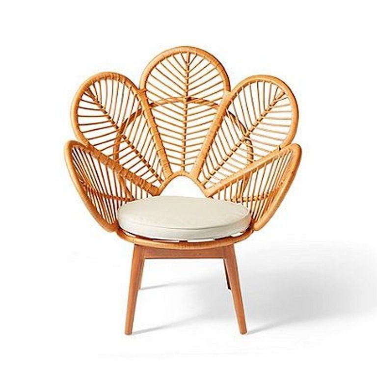 30 Awesome Daisy Rattan Chair Design That Easy To Make Chair Chairdesign Furniturechairs Rattan Chair Rattan Furniture Chair Design