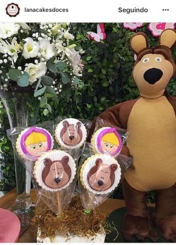 Masha e o Urso   Bear birthday party, Picnic birthday