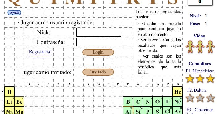 Ayuda para maestros quimitris juego basado en el tetris para ayuda para maestros quimitris juego basado en el tetris para aprender la tabla peridica urtaz Image collections