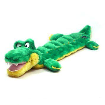 8 39 Amazon Com Kyjen Plush Puppies Squeaker Mat Long Body Gator