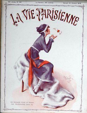 Vie Parisienne (La) N° 44 Du 30/10/1915 - Gerbault