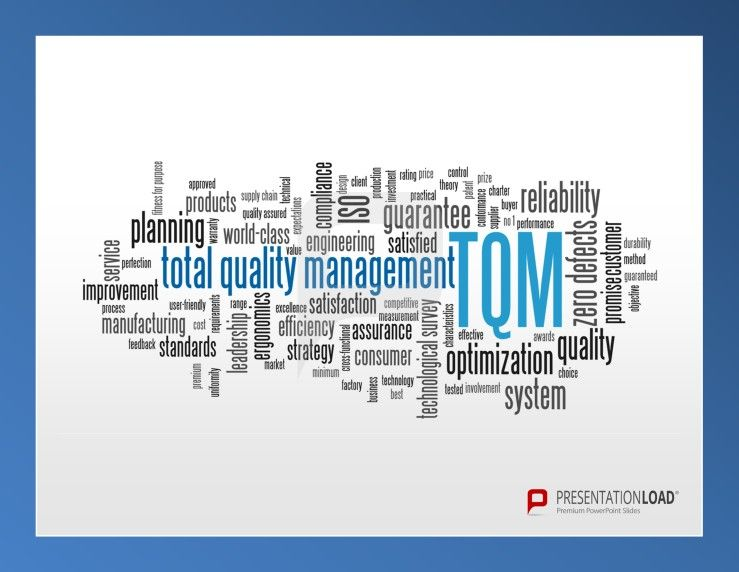 TotalQuality Management Powerpoint Templates For Illustrate Your