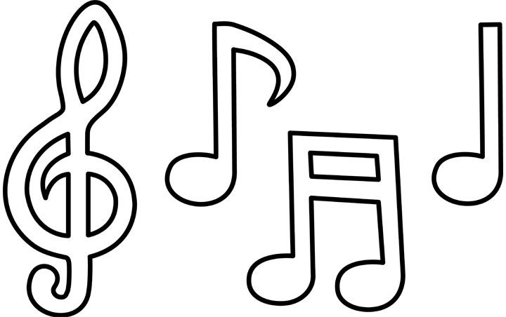 Top 20 Free Printable Music Coloring Pages Online Music Notes Drawing Music Notes Art Music Coloring