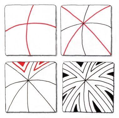 Zentangle Patterns For Beginners Easy Zentangle Patterns New