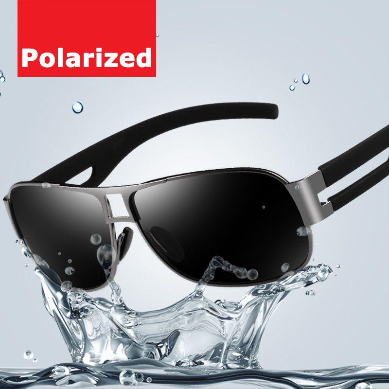$12.99 (Buy here: https://alitems.com/g/1e8d114494ebda23ff8b16525dc3e8/?i=5&ulp=https%3A%2F%2Fwww.aliexpress.com%2Fitem%2FGenuine-Men-polarized-sunglasses-fashion-fishing-sun-glasses-cool-car-driving-sunglasses%2F32331179379.html ) Genuine Men polarized sunglasses fashion fishing sun glasses cool car driving sunglasses Pilot style Male Fashion Eyewear  for just $12.99