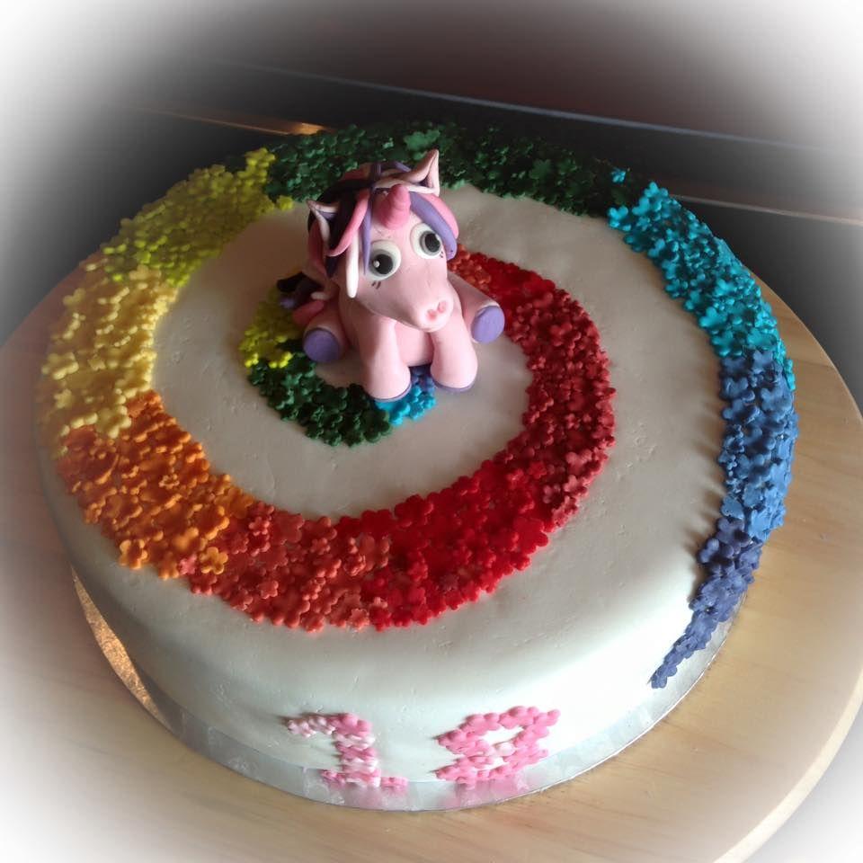 Einhorn Regenbogen Torte Unicorn Rainbow Cake Rezepte Pinterest