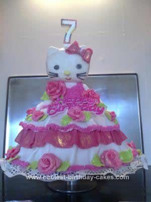 Coolest Hello Kitty Birthday Cake Idea Hello kitty birthday cake