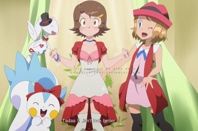 Pokemon Xyz Serena Anime Fanart Pokemon Girls Pokemon