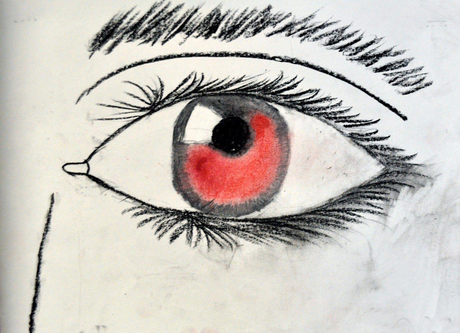 Artisan Des Arts Eye Study Grade 5 6 Eye Study Art Lessons Middle School 6th Grade Art