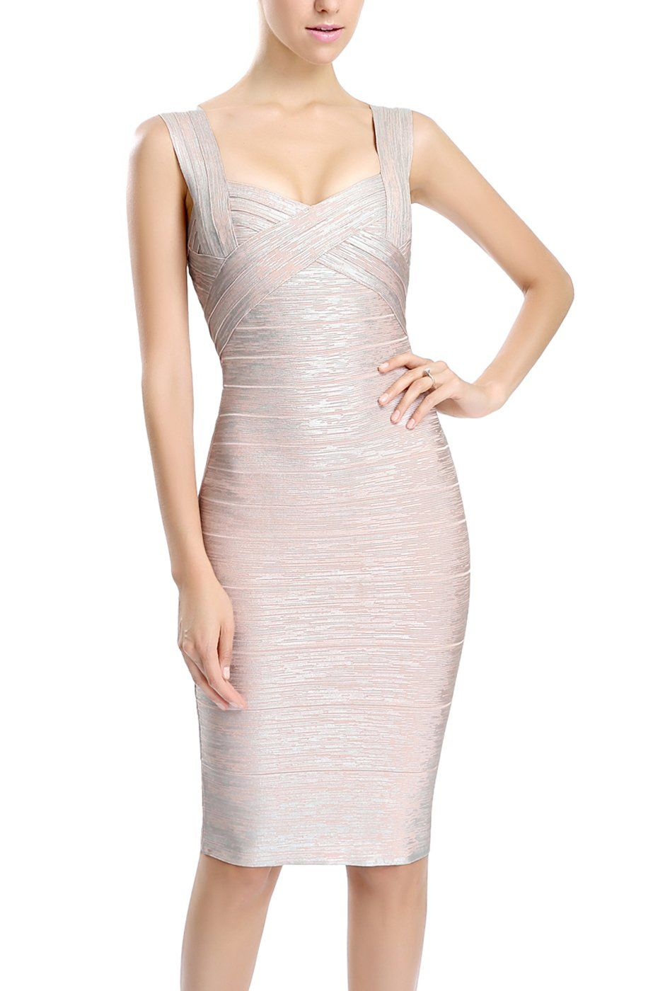 38cc848fc phistic Womens Crisscross Front Bandage Dress Blush S *** You can get more  details