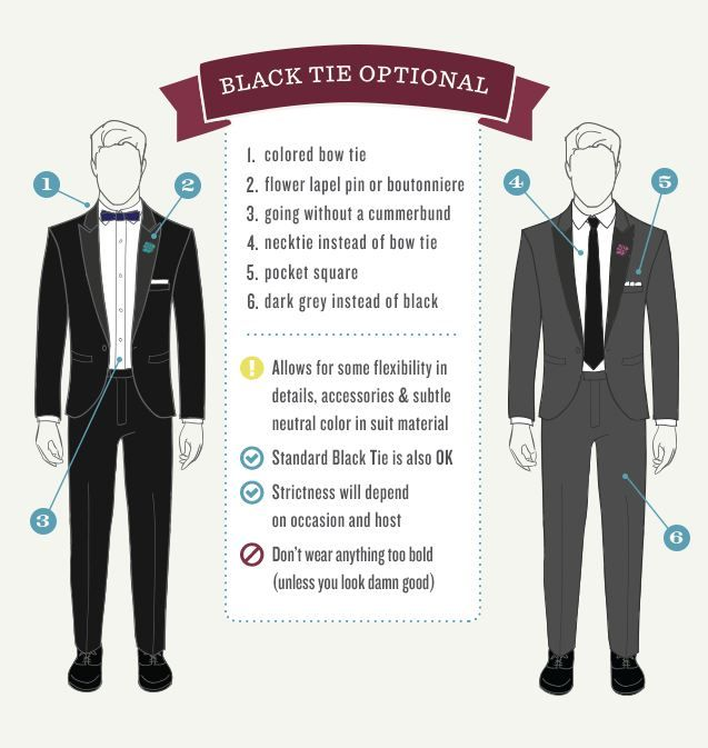 The Gentlemanual S Guide To Black Tie Optional Dress Code