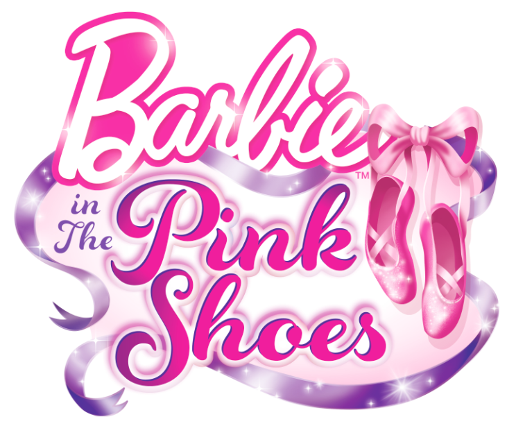Barbie And The Pink Shoes Logo Barbie