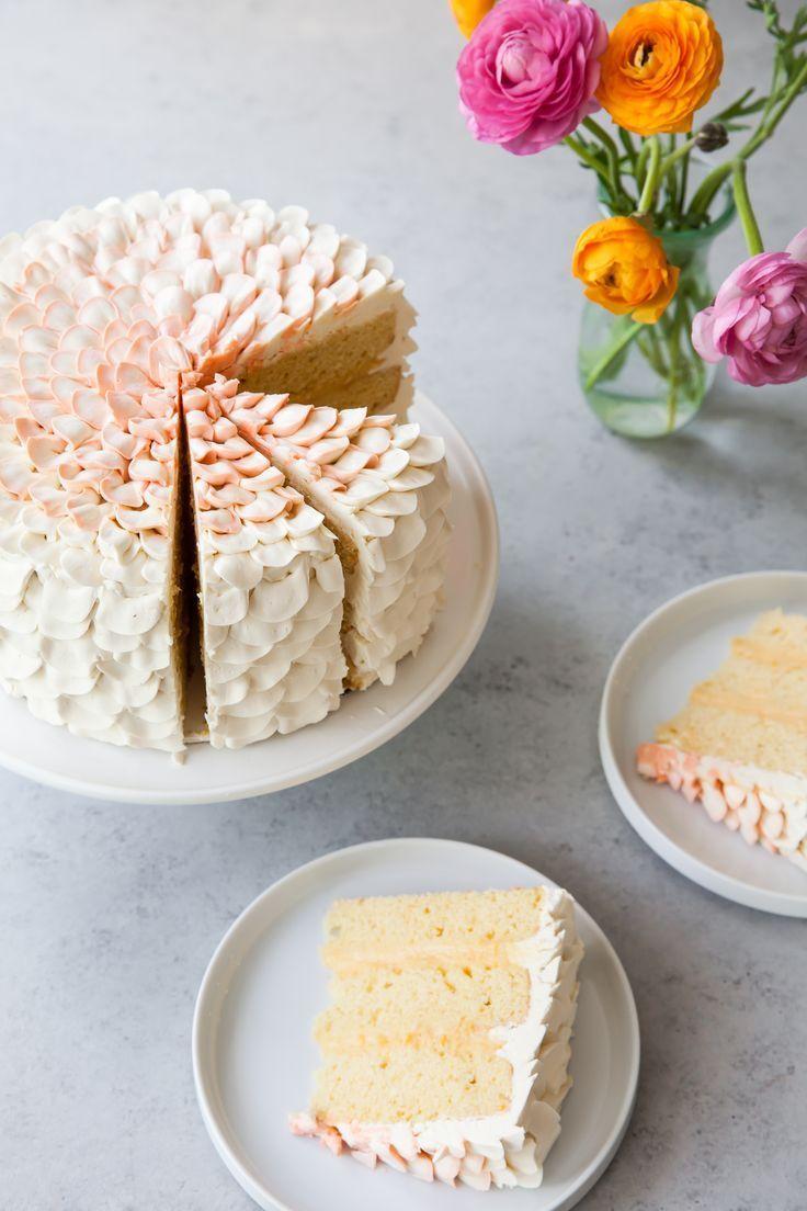 Orange Salted Honey Cake — Style Sweet
