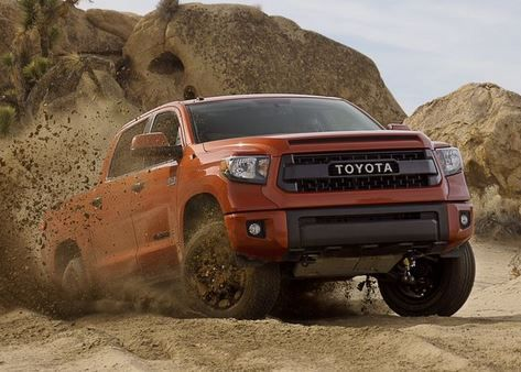 Toyota Tacoma, Tundra, 4Runner get tough new TRD desert offroad packages http://www.usatoday.com/story/money/cars/2014/02/06/toyota-terd-tundra-tacoma/5249291/