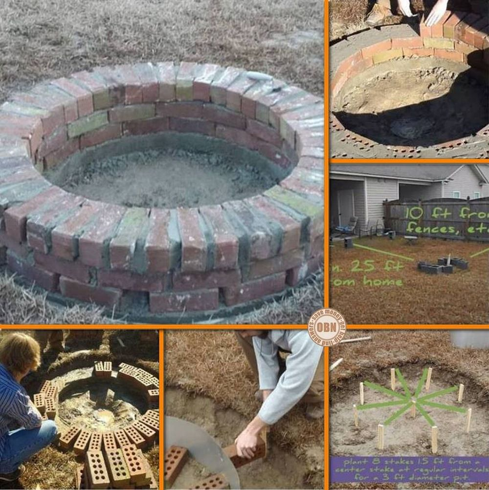 Here's a DIY fire pit perfect for your backyard! Learn how ...