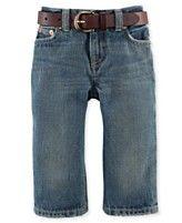 Ralph Lauren Pants, Baby Boys Classic-Fit Jeans