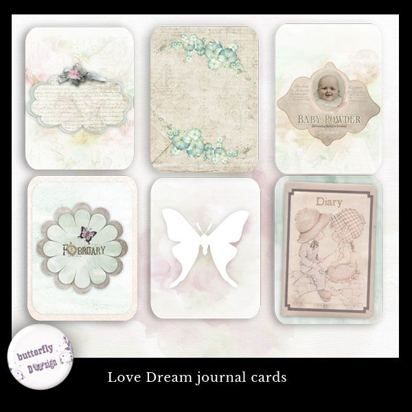 Love Dream Journal Cards by butterflyDsign http://www.digitalscrapbookingstudio.com/store/index.php?main_page=product_info&cPath=13_453&products_id=27714
