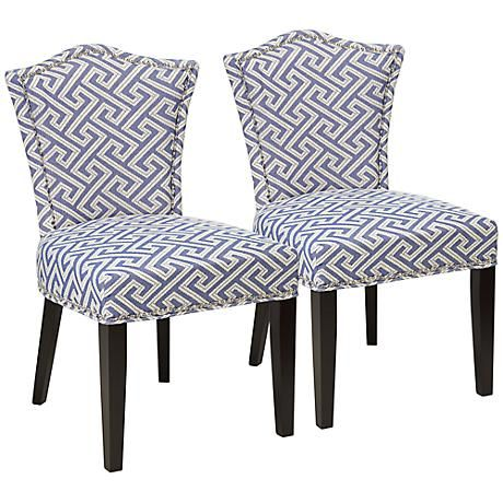 Simone Nantucket Dining Chair Set Of 2