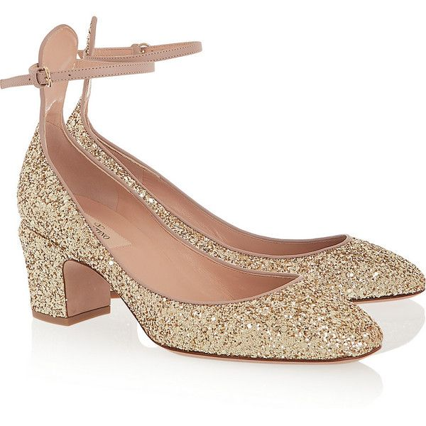 How Much Cheap Price Valentino Tango Glitter Heels Newest For Sale 28oUl
