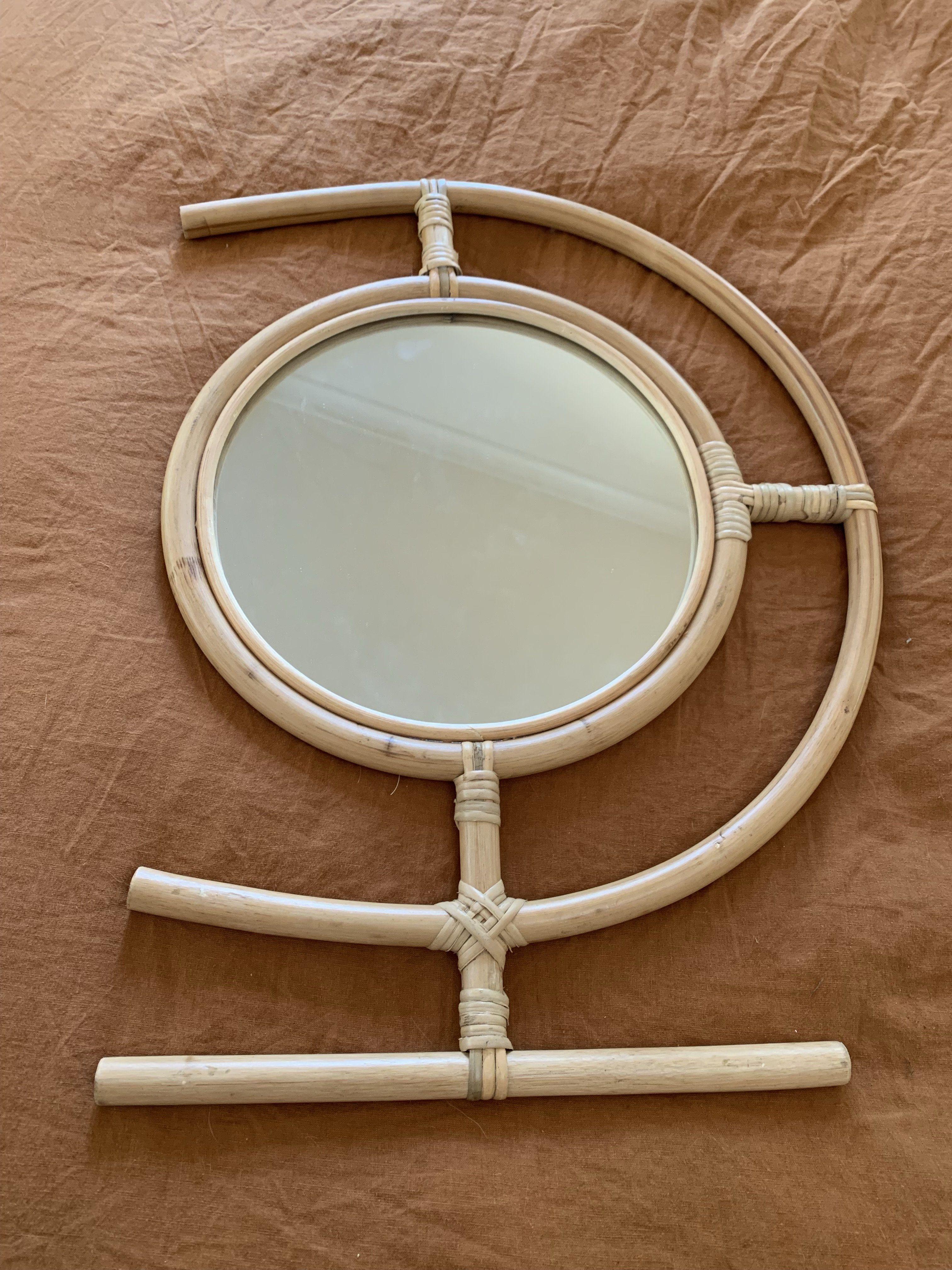 Egypt Mirror in 2020 Mirror, Rattan mirror, Hanging mirror