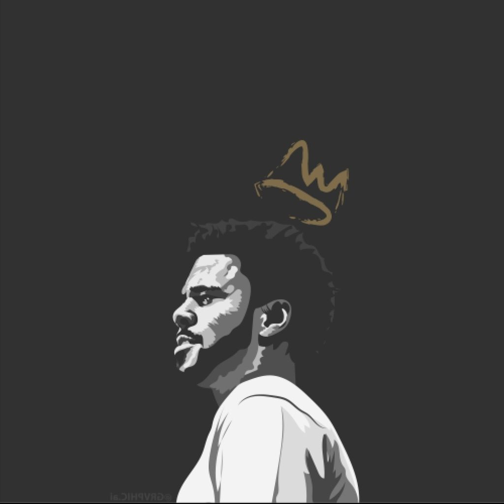 Lovefashionlust J Cole Art J Cole Hip Hop Art