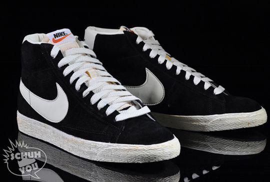 promo code a58a1 3d018 Nike Blazer High Vintage ND  Black     Grey  - mashKULTURE