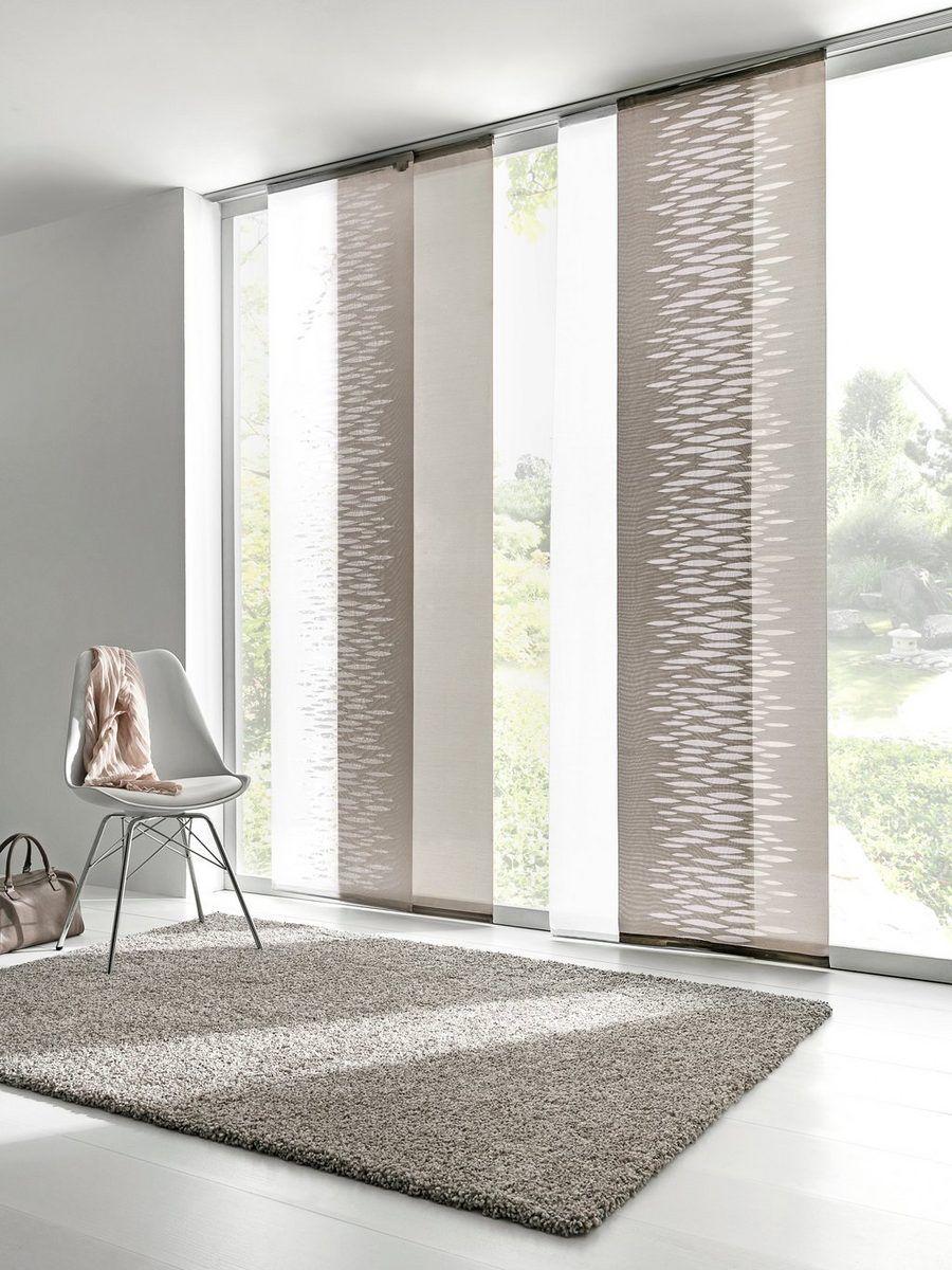 Heine Home Schiebevorhang In Scherli Qualitat Elegant Und Schlicht Online Kaufen Otto Gardinen Modern Gardinen Wohnzimmer Modern Gardinen Wohnzimmer