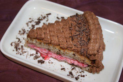 Vegania - Söta bakverk Chokladmoussetårta