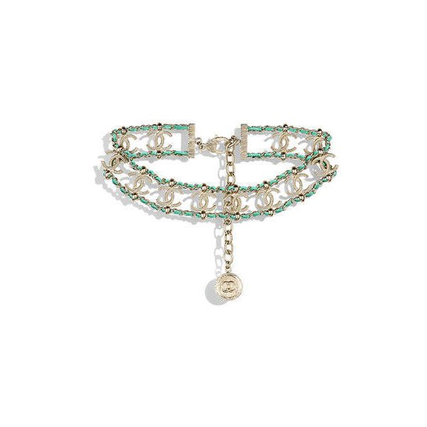 gold light green Chanel ? liked on Polyvore featuring gold costume jewellery yellow gold jewelry  sc 1 st  Pinterest & gold light green Chanel ? liked on Polyvore featuring gold costume ...