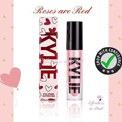 "kylie cosmetics Valentines 2019 ""Roses Are Red"" Glitter"