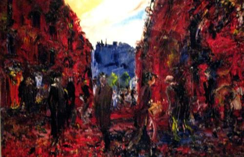 Morning in a City- Jack B. Yeats