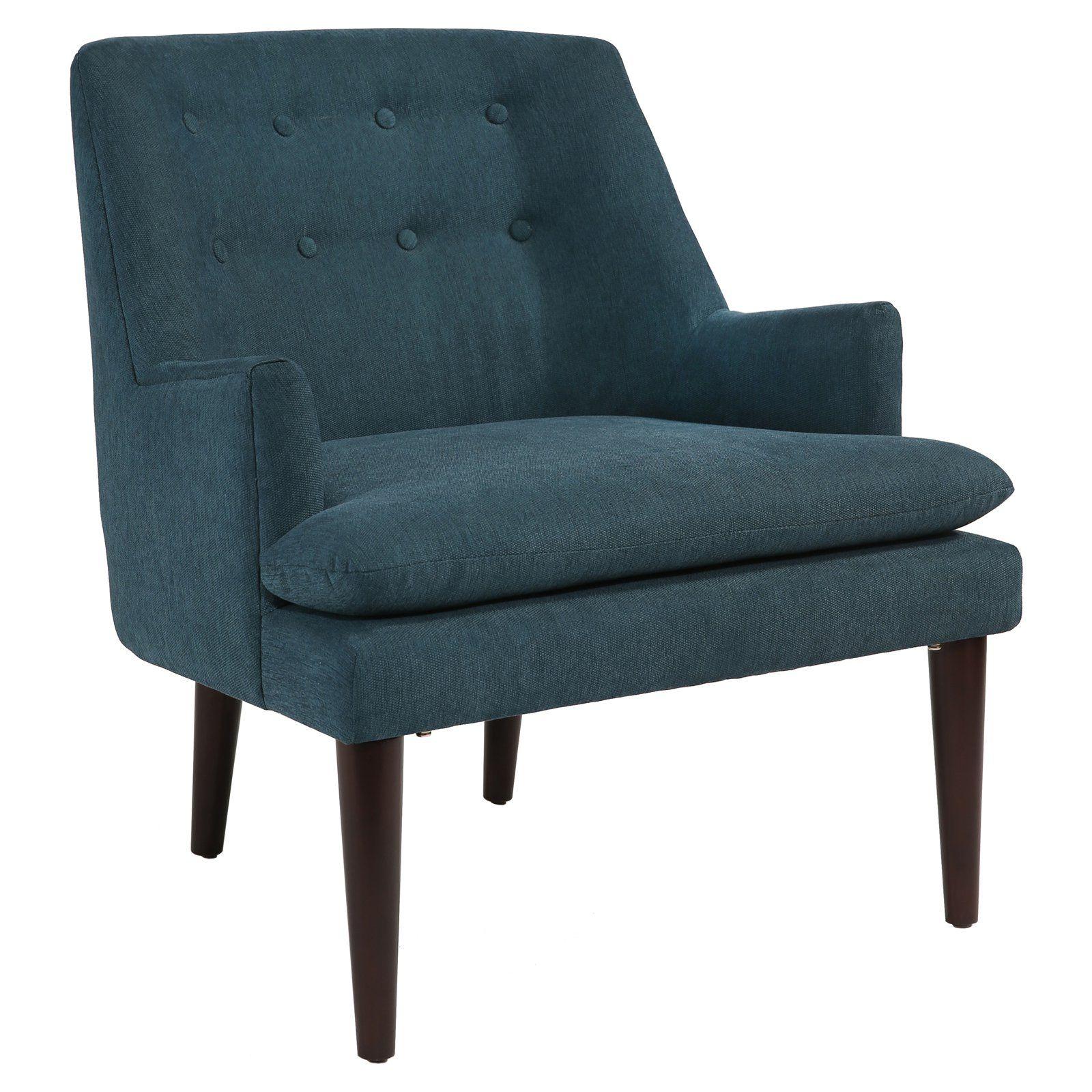 Abbyson Murphy Accent Chair Blue