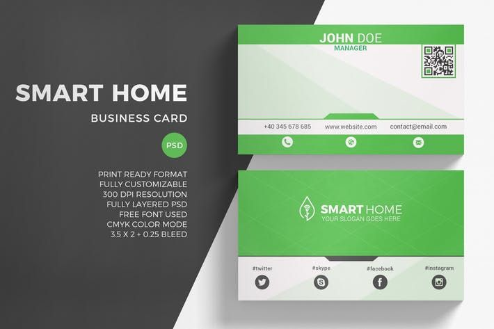 Green energy business card template by sztufi design inspiration green energy business card template by sztufi reheart Image collections