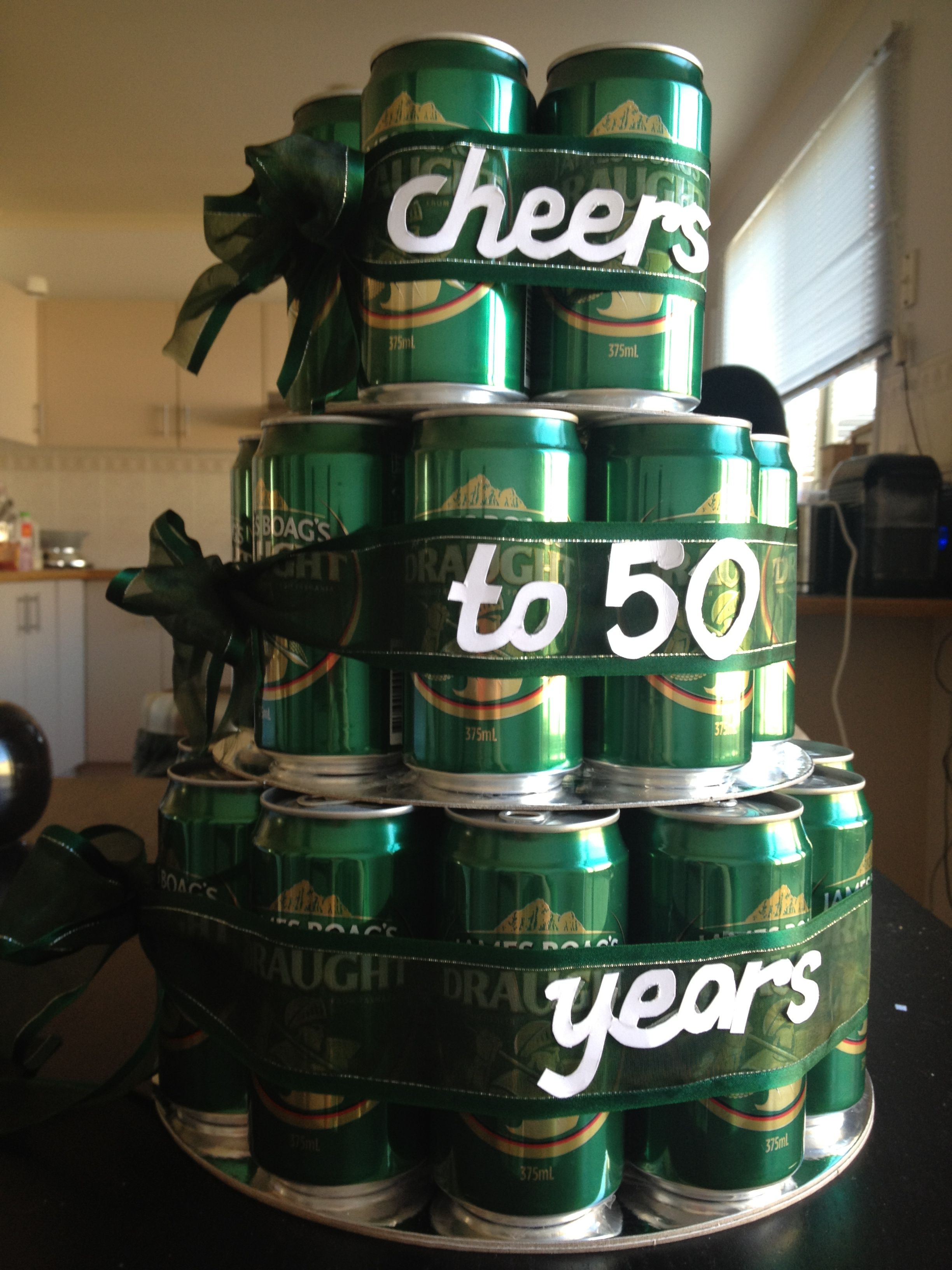 """50th Birthday Present actually just like the """"Cheers to"""