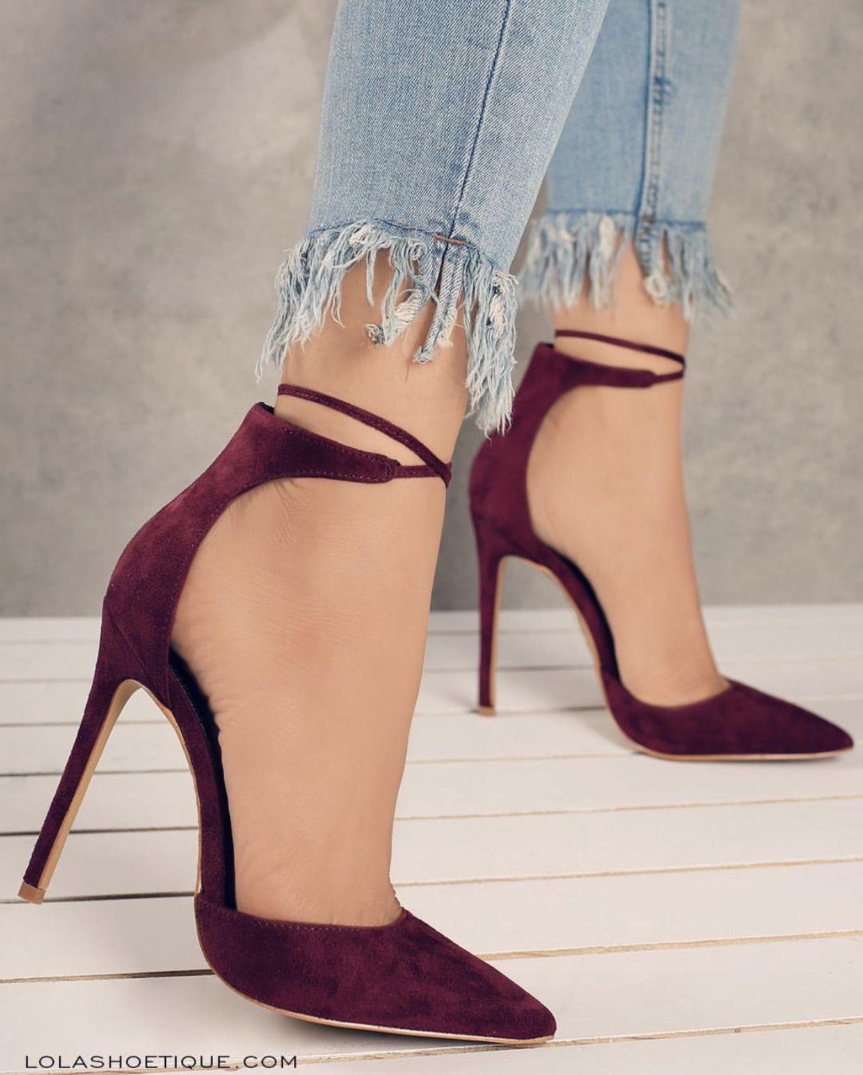 5fc5ea94a2eed Haute Attention - Wine #lolashoetique #pumps #shoes #heels #cute ...