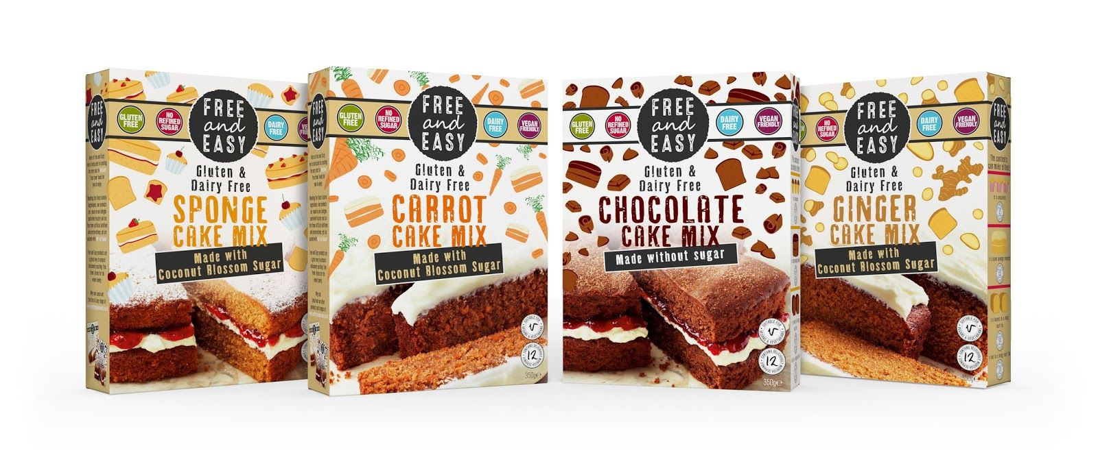 Free Easy Cake Mixes And Soups On Packaging Of The World Creative Package Design Gallery Healthy Food Branding Packaging Design Health Food Packaging