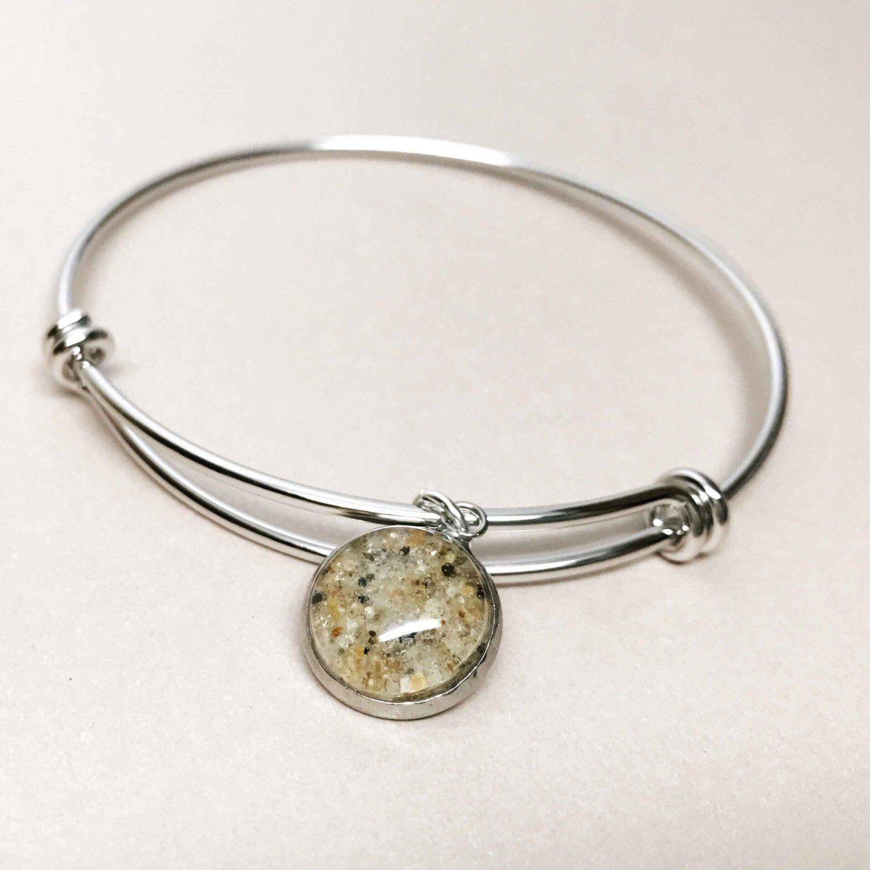 bd66e22fcda65 Beach Sand Bracelet - Sand Jewelry - Sand Bracelet - Expandable ...