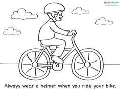 Coloring Sheets For Summer Safety Summer Safety Safety Crafts