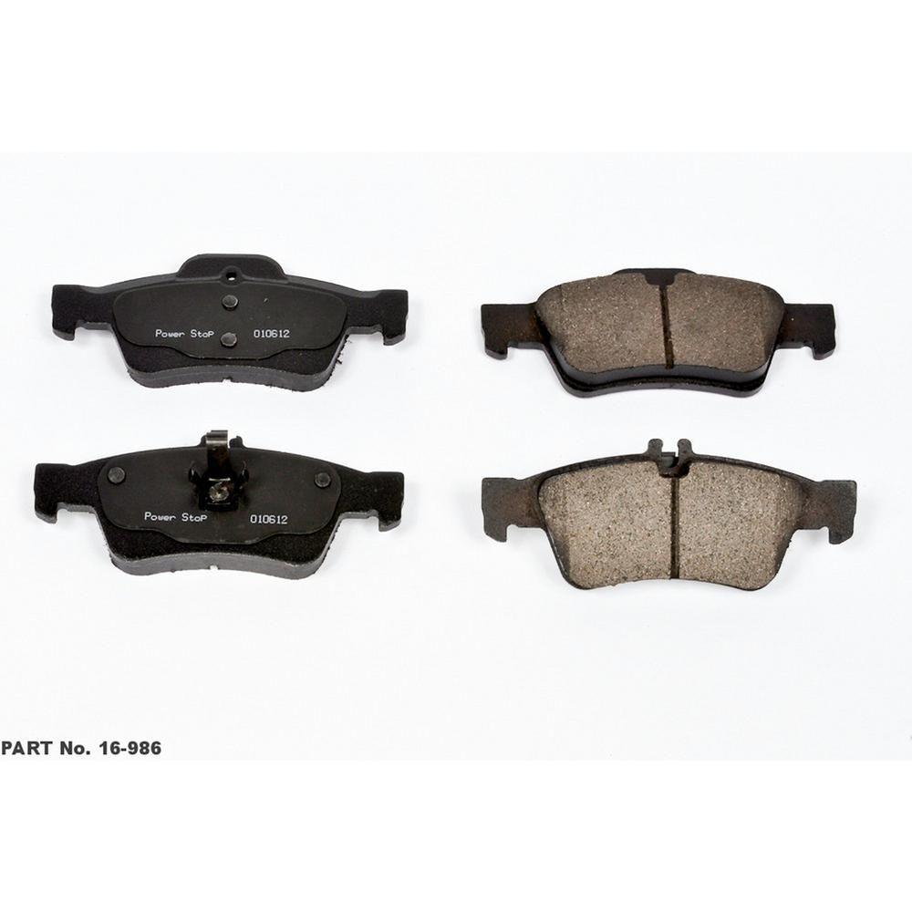 Power Stop Disc Brake Pad Set-16-986   Products in 2019