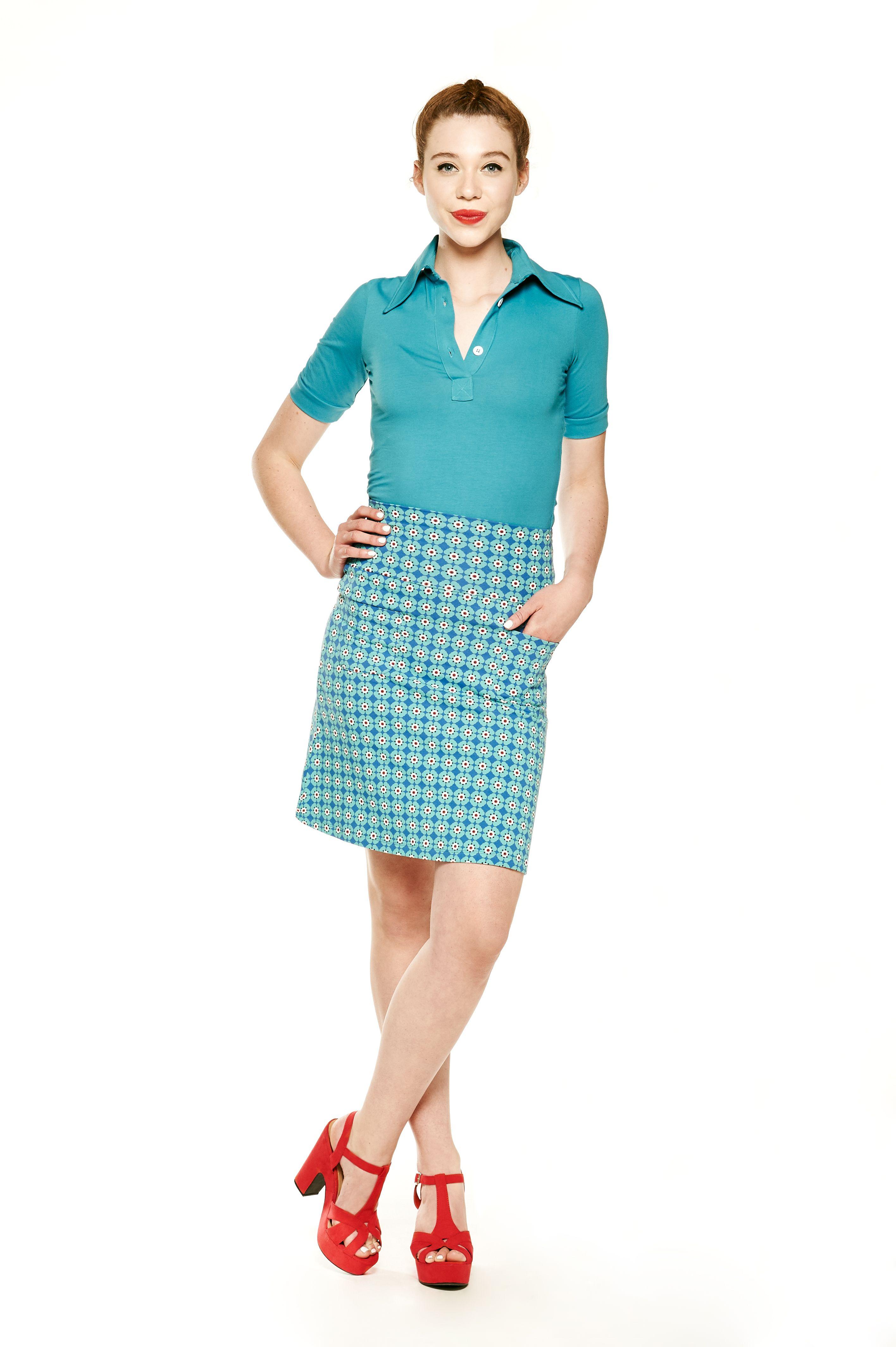 7fb1813968fbfc Tante Betsy Skirt Sakura Blue