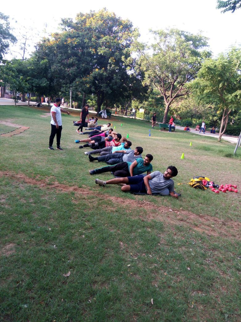 Boot camp activities organized by our city pulse mall