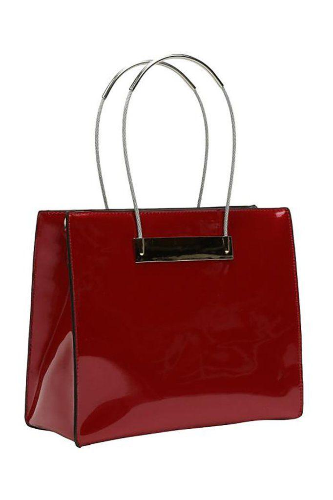 The Elizabeth Handbag Resembles Elegance Of A Vintage Suitcase With Unique Versatile