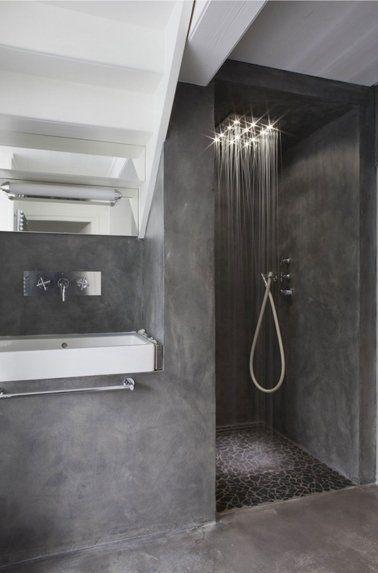 Idées déco pour une salle de bain grise | Bathrooms ...