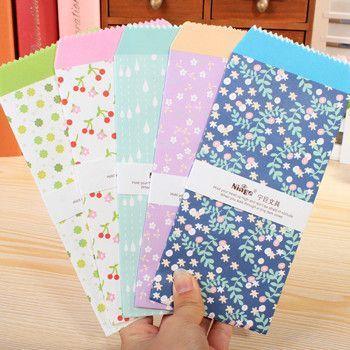 20 pcs/lot Korea Cute Cartoon Mini Colorful Paper Envelope Kawaii Small Baby Gift Craft Envelopes for Wedding Letter Invitations